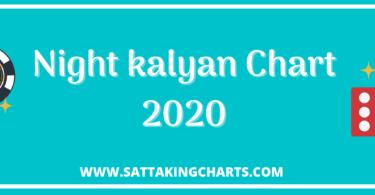 night kalyan chart
